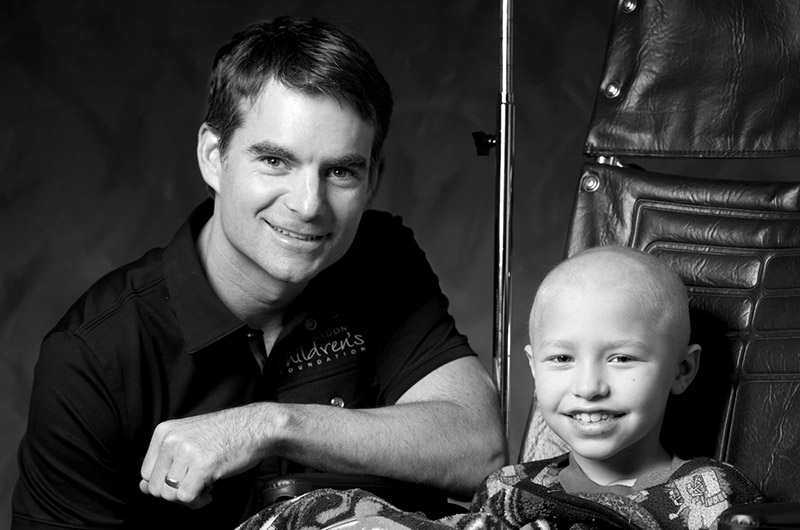 Jeff Gordon Children's Foundation Corvette giveaway for pediatric cancer research