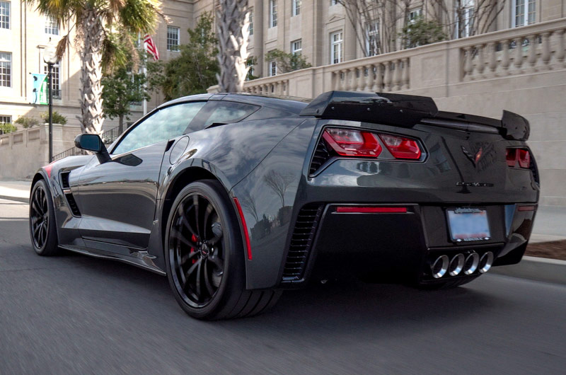 Jeff Gordon Chevrolet Corvette Grand Sport Coupe – back