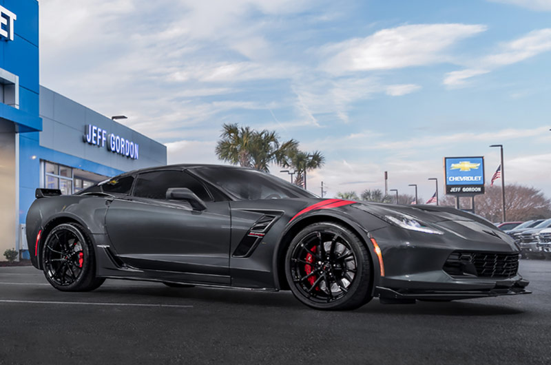 Jeff Gordon Chevrolet Corvette Grand Sport Coupe