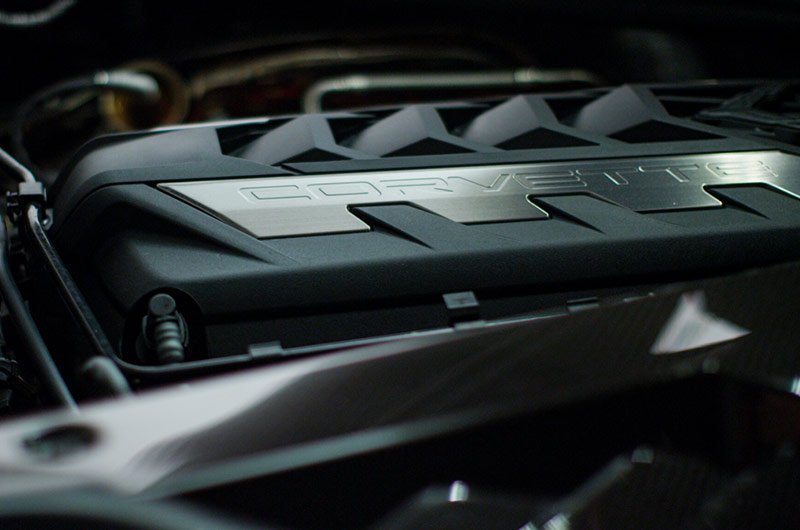 6.2 Liter V8 engine – 2020 Chevrolet Corvette C8 Stingray Coupe