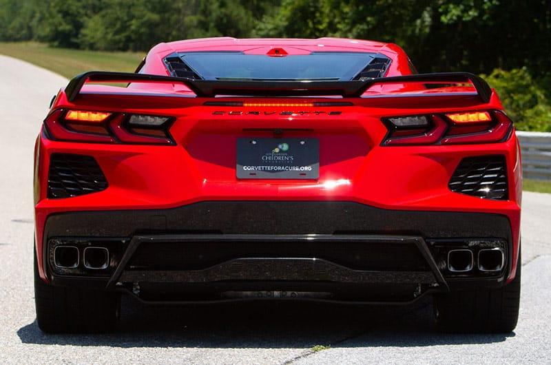 Z51 Rear spoiler – 2020 Chevrolet Corvette C8 Stingray Coupe