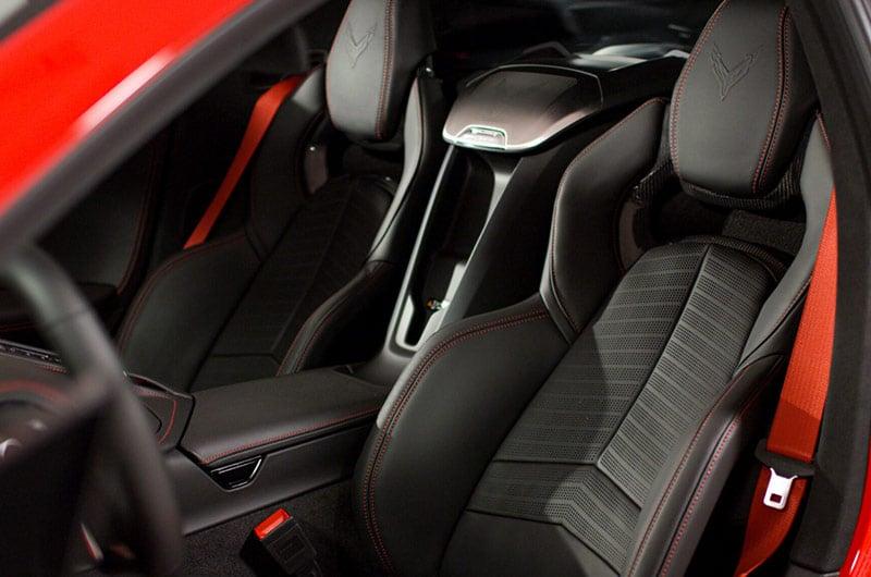 Interior seats – 2020 Chevrolet Corvette C8 Stingray Coupe