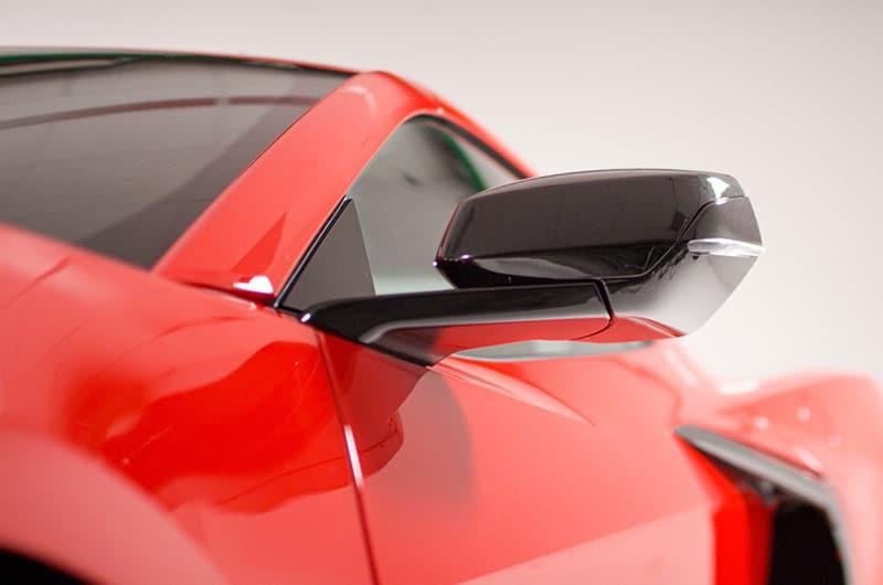 Side mirror – 2020 Chevrolet Corvette C8 Stingray Coupe