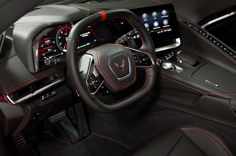 Steering wheel – 2020 Chevrolet Corvette C8 Stingray Coupe