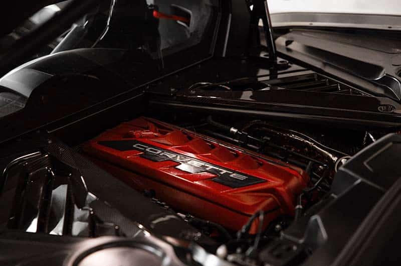 Engine – 2021 Chevrolet Corvette C8 Stingray Coupe