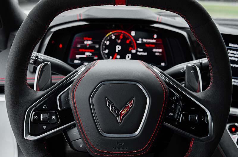 Steering wheel – 2021 Chevrolet Corvette C8 Stingray Coupe