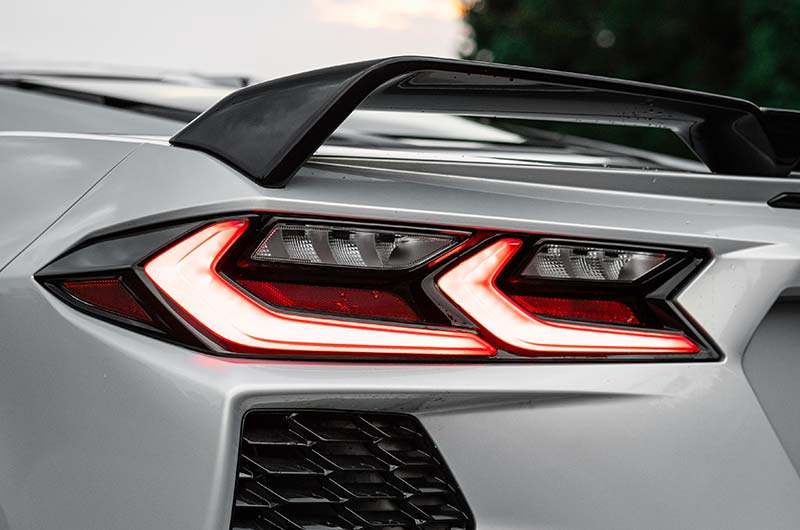 Tail lights – 2021 Chevrolet Corvette C8 Stingray Coupe